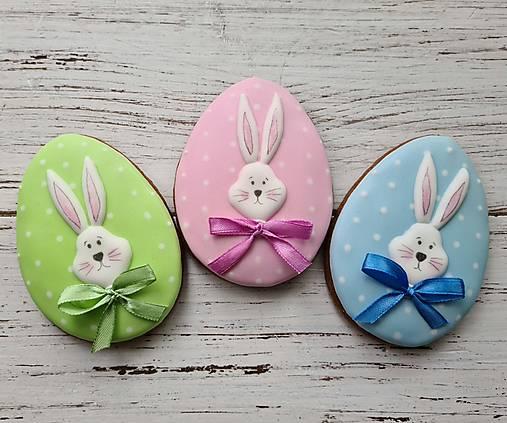 Dekorácie - Vajíčko so zajacom - 13056077_