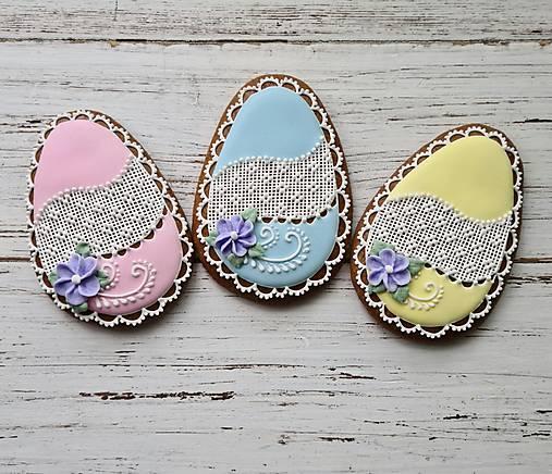 Dekorácie - Veľkonočné vajíčko - 13056153_