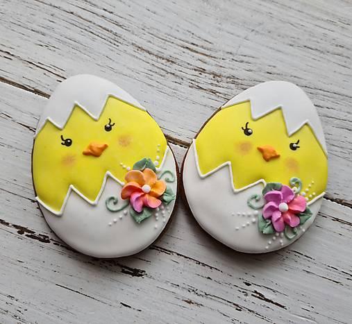 Dekorácie - Veľkonočné vajíčko - 13056269_