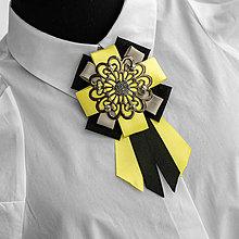 Odznaky/Brošne - Exkluzívna brošňa VIKI - 13053818_
