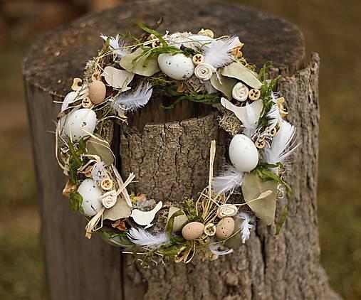 """Dekorácie - Veľkonočný veniec na dvere """"Konečně jaro"""" - 13055577_"""