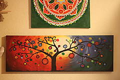 Obrazy - Obraz Sladké ovocie - akryl 90 x 30 cm - 13057360_