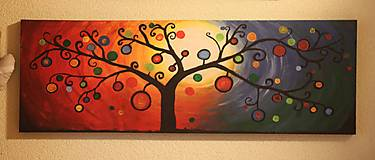 Obrazy - Obraz Sladké ovocie - akryl 90 x 30 cm - 13057368_