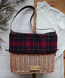 Kabelky - Prútená kabelka do ruky INVIERNO N°1 - 13054163_