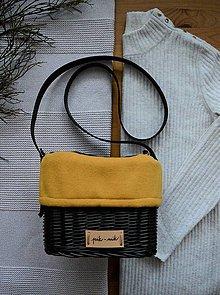 Kabelky - Prútená kabelka na rameno INVIERNO N°5 - 13054175_