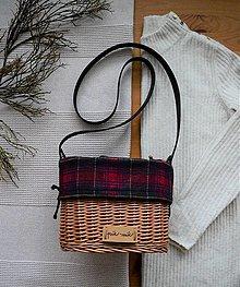 Kabelky - Prútená kabelka na rameno INVIERNO N°1 - 13054192_