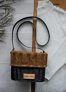 Kabelky - Prútená kabelka na rameno INVIERNO N°6 - 13055296_