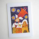 Papiernictvo - Vianočná pohľadnica 12 - 13053467_