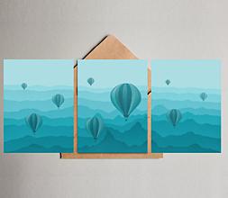 Grafika - Pohlednice - Balóny Panorama - 13054276_