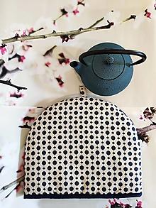 Úžitkový textil - Termo návlek na čajník Dots - 13056884_