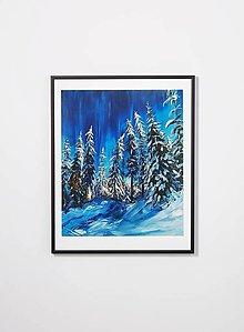 """Obrazy - Obraz """"Zimná nálada"""" - 13054718_"""