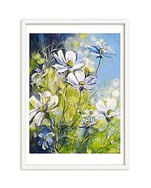 """Obrazy - Obraz """"Kvetinový vánok"""" - 13057510_"""