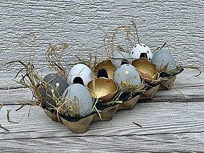 Dekorácie - Betónové vajíčka Ups - 13055702_