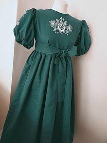 Detské oblečenie - Ručne maľované šaty - 13054689_