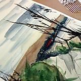 Kresby - Nikde/ akvarelový originál by Richie Bumpkin - 13058678_