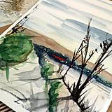 Kresby - Nikde/ akvarelový originál by Richie Bumpkin - 13058679_