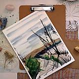 Kresby - Nikde/ akvarelový originál by Richie Bumpkin - 13058680_