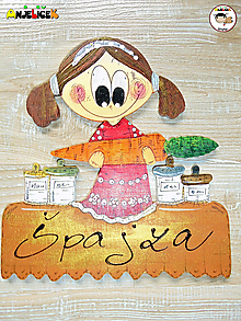 Tabuľky - Menovka - špajza - 13061412_