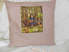 Úžitkový textil - Vankúš- návlečka. - 13058571_