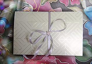 Papiernictvo - Darčekové balenie na hodváb... - 13061215_
