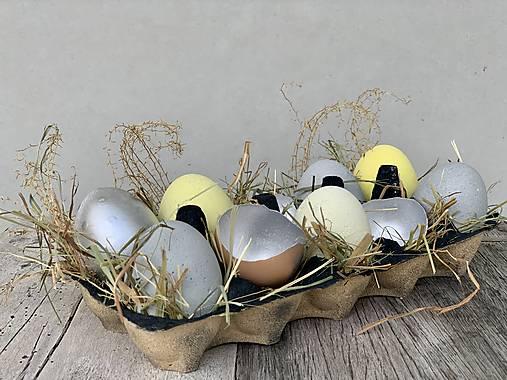 Betónové vajíčka Ups (Žltá)