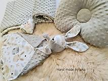 Textil - Mojkáčik  s dečkou - zajačik / možnosť súpravy/ - 13064937_