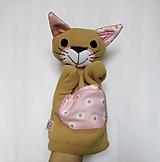Hračky - Maňuška mačka - Mačička z Margarétkového pelieška - 13062903_