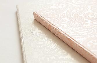 "Papiernictvo - Svadobná kniha hostí / fotoalbum ""luxury"" - 13065785_"