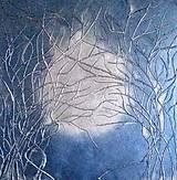 Obrazy - Heaven blue - 100 x 100 cm - 13066431_