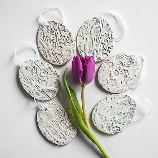 Dekorácie - Veľkonočné vajíčka | Jarné kvety - 13062683_