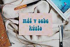 - kolekcia pohľadníc DOKÁŽEŠ VŠETKO (máš v sebe kúzlo) - 13063049_