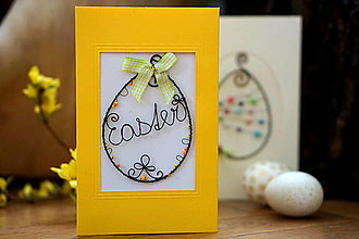 Papiernictvo - Pohľadnica žltá - 13062465_