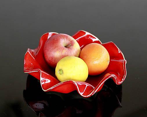 Keramická misa malá vlnková ovocná na čokoľvek