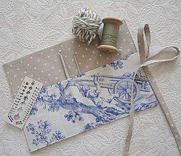 Úžitkový textil - Organizér na háčiky - 13069634_