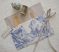 Úžitkový textil - Organizér na ponožkové ihlice - 13069687_