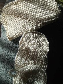 Úžitkový textil - Sada na čistenie pleti - 13068066_