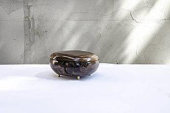 Nádoby - Šperkovnica /ˈhaptɪk/ americký orech - 13068399_