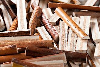 Dekorácie - Drevené odrezky - polovičné valčeky - 13067951_