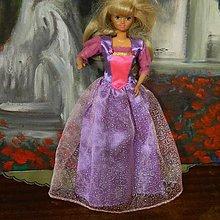 Hračky - Šité Barbie šaty - 13071195_