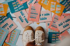 Papiernictvo - pohľadnica / kolekcia DOKÁŽEŠ VŠETKO (set všetkých pohľadníc) - 13067424_