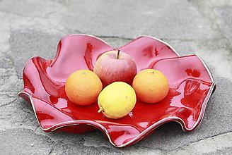 Nádoby - Keramická misa veľká vlnková ovocná na čokoľvek - 13074784_