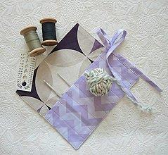Úžitkový textil - Organizér na háčiky - 13073771_