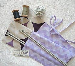 Úžitkový textil - Organizér na ihlice - 13073774_