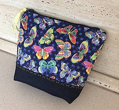 Taštičky - kapsička motýle - 13073211_