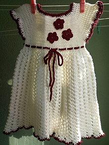Detské oblečenie - Šatôčky pre najmenšie princezné - 13072043_