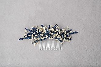 """Ozdoby do vlasov - Kvetinový hrebienok """"svitanie v Provence"""" - 13073539_"""