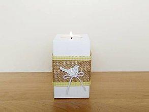 Svietidlá a sviečky - Jarný svietnik 🐦 - 13074003_
