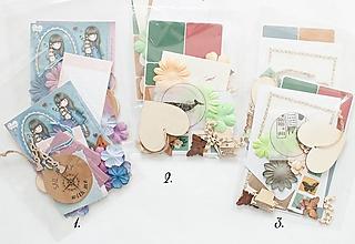 Papier - Prekvapenie - tvorivý balíček - 13072724_
