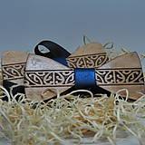 Doplnky - Drevený motýlik - pásový ornament - 13075491_