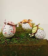 Dekorácie - Spiace Víly / sada 10ks -mini liliputie vajíčka - 13075087_
